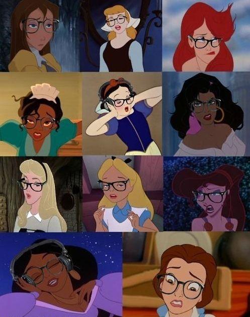 More Hipster Disney Princesses