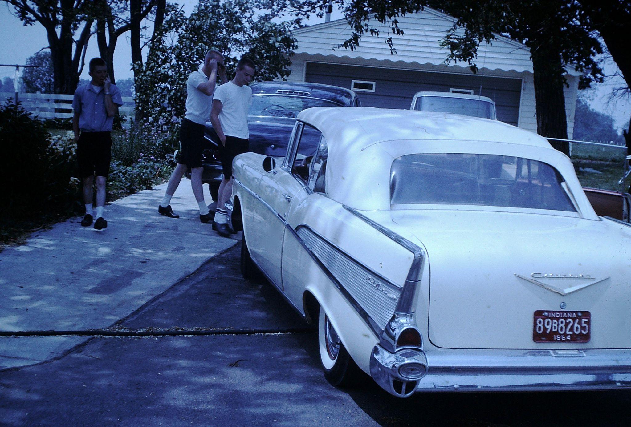 Found Photo Chevrolet Bel Air Chevrolet bel air