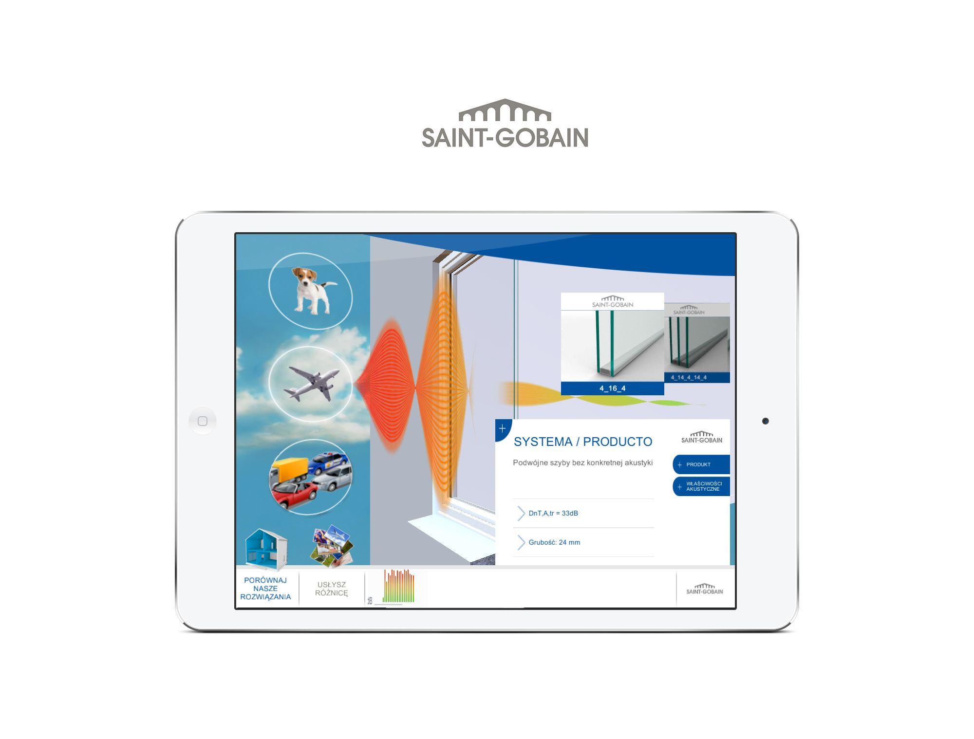 Application mobile sur mesure - DBstation - Saint-Gobain