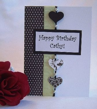 Pin By Lori Cawthorne On Cards Pinterest Cards Birthday Cards