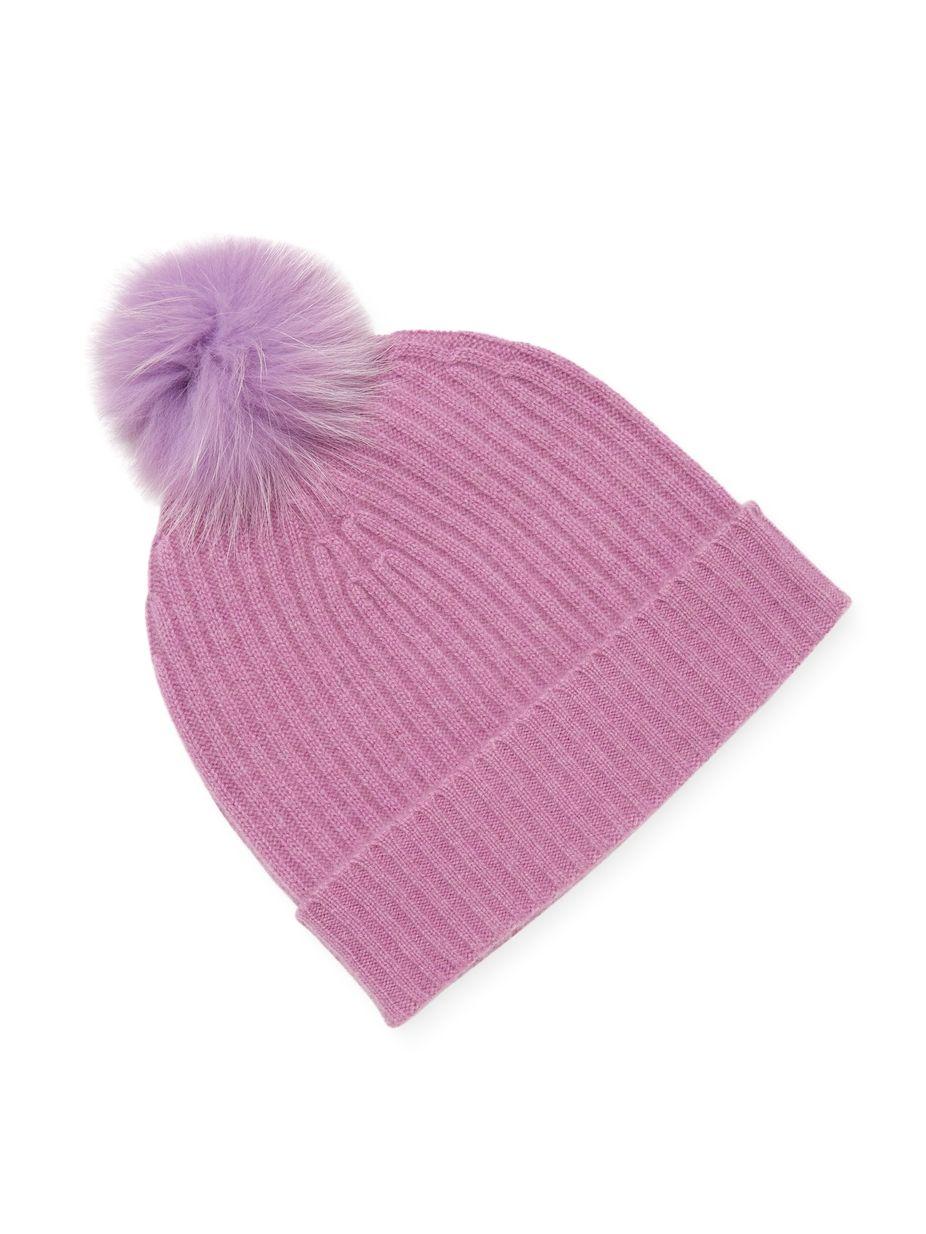 e772cf9a8fd55a Qi Cashmere Ribbed Cashmere Hat, #QiCashmere, #Ribbed, #Cashmere ...