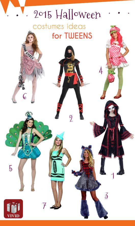 Halloween Costumes for Tween Girls Aged 9,14