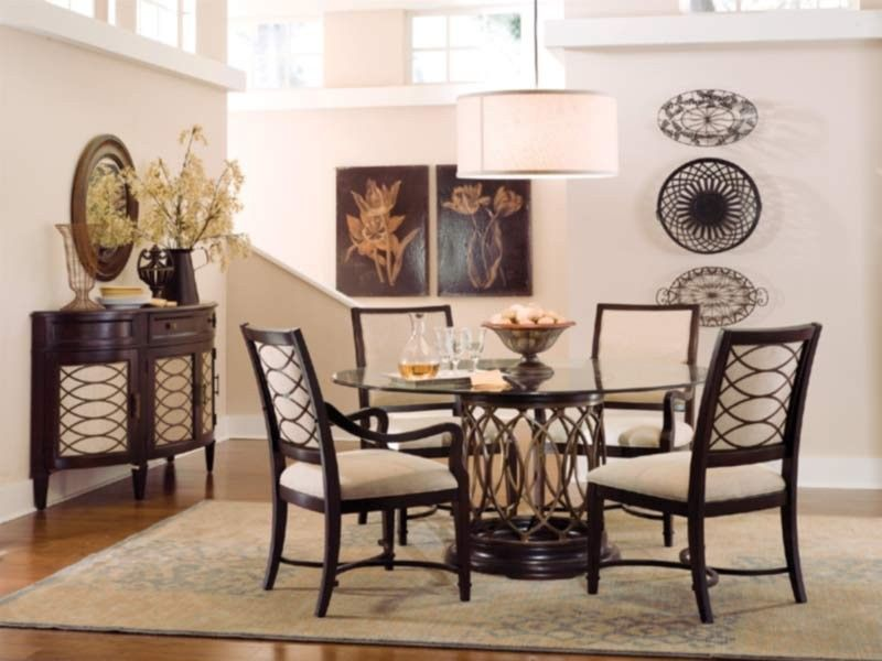 ART Furniture - Intrigue 6 Piece Dining Table Set in Hickory Veneers - 161224-2636SET