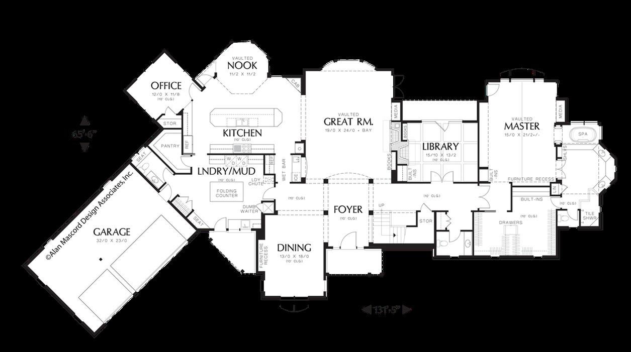 Mascord House Plan 2448 The Glendale Craftsman Style House Plans House Plans How To Plan