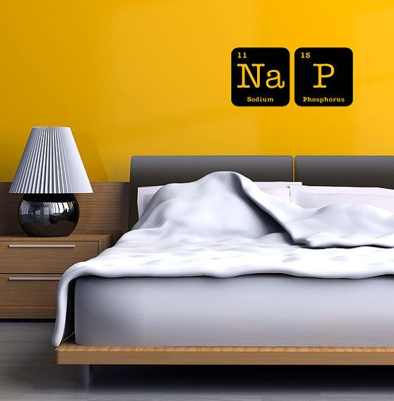 periodic table wall decals from http://www.etsy.com/shop ...