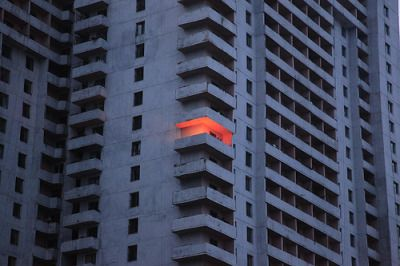 """untrustyou: """" The only ray of light from a Pyongyang apartment block. - Hendrik Schwartz """""""