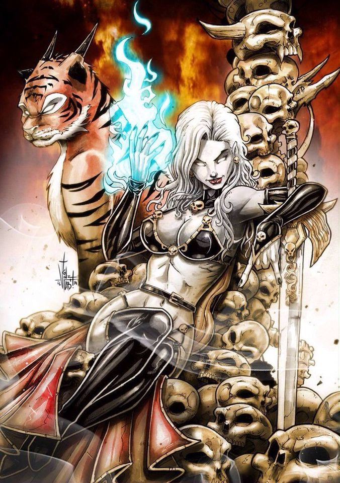 lady death lady deathdawn and more ect pinterest