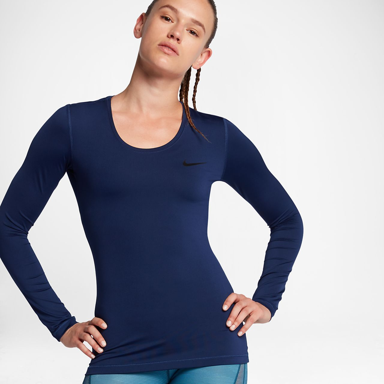 87a7403b0e05f Nike Pro Women s Long Sleeve Training Top