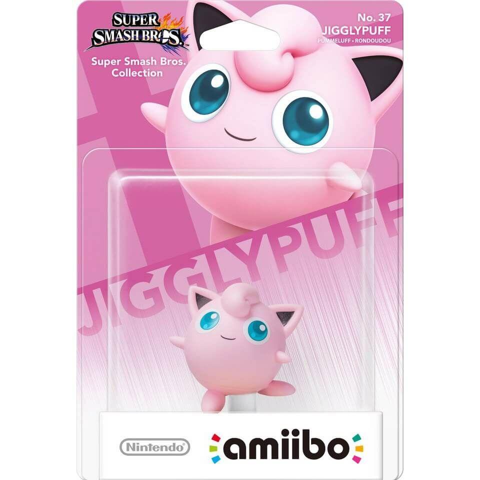Jigglypuff No 37 Amiibo Juegos Nintendo Super Smash Bros