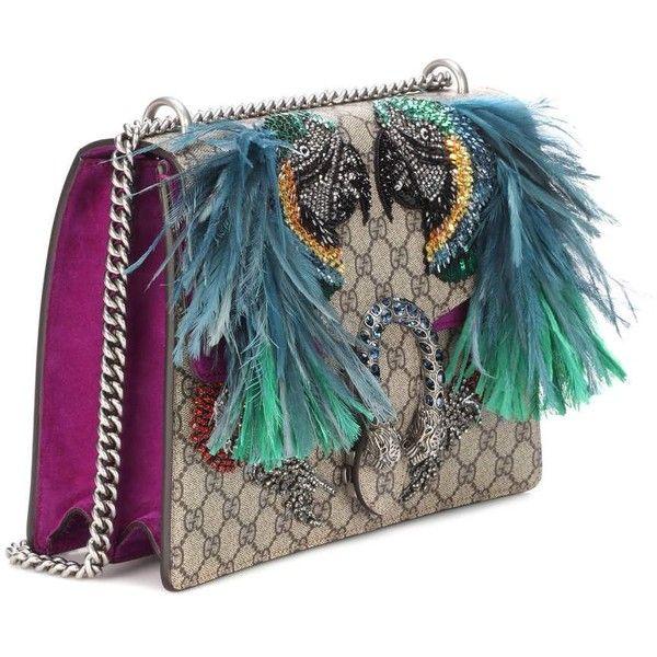 68392638cef1 Gucci Dionysus GG Supreme Medium parrot shoulder bag ( 4