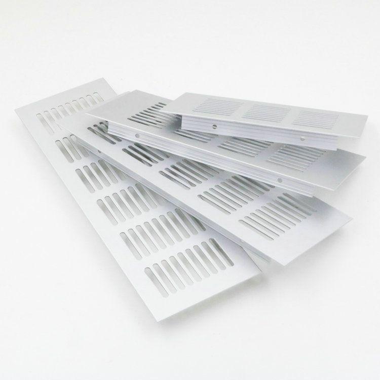 5pcs Lot 200 80mm Aluminum Air Vent Ventilator Grille For Closet Shoe Cabinet