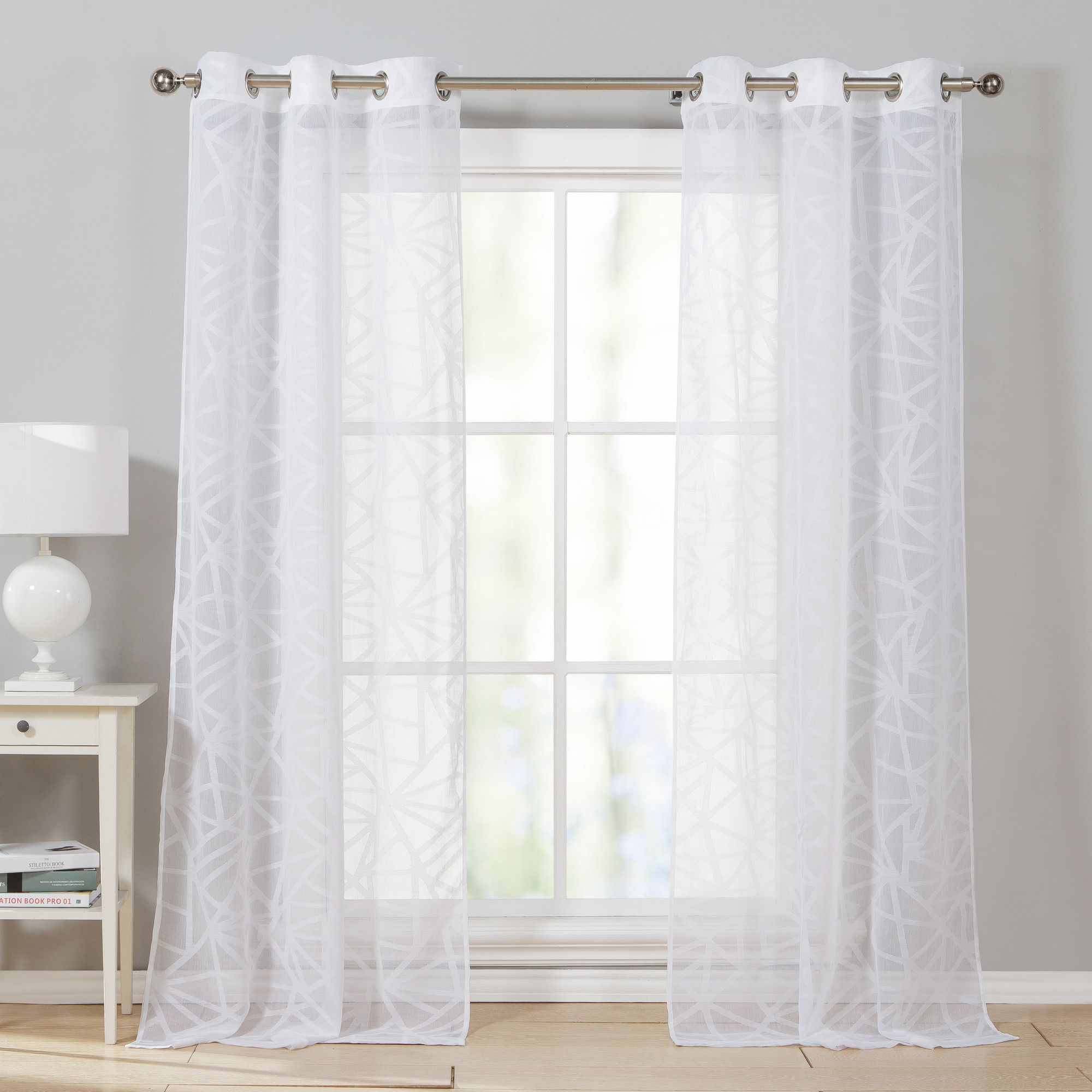 Window coverings types  romain curtain panels  products  pinterest  products