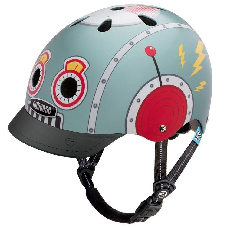 Nutcase Helmet Little Nutty Tin Robot Generation 3 To Save The