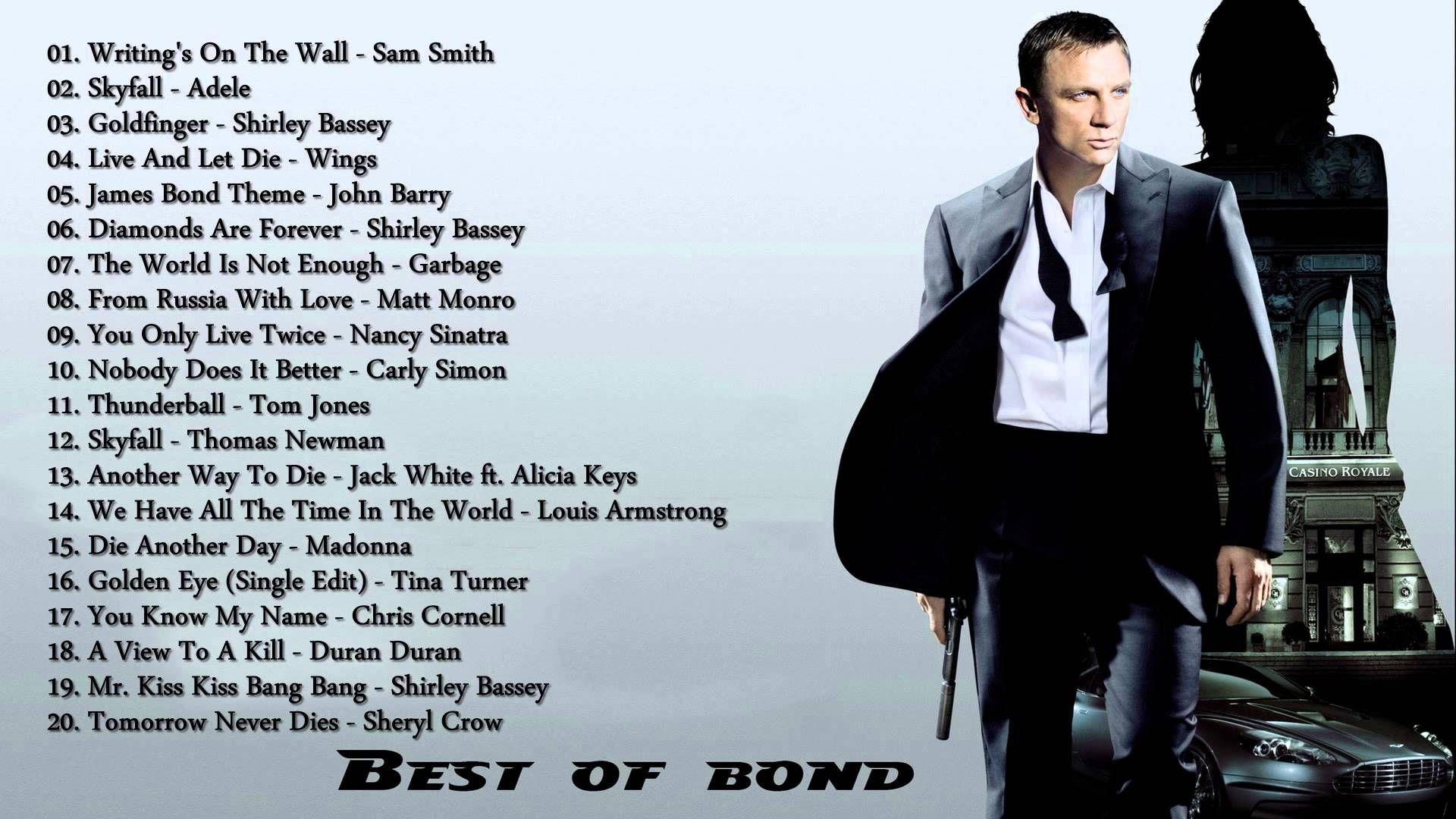 Bond james movie music