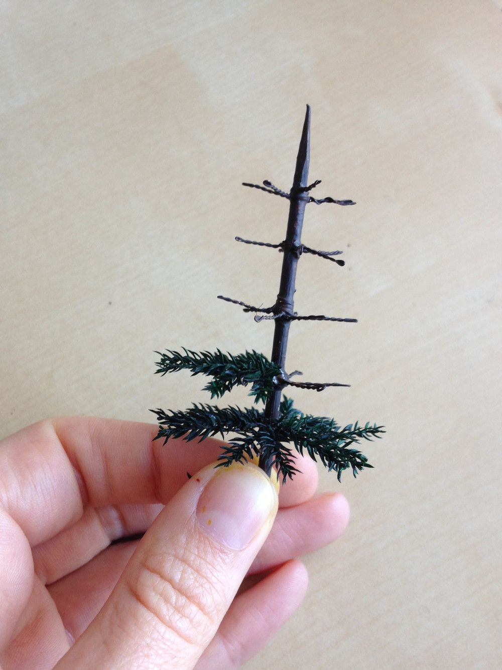 How it's made: A Little Victorian Table Top Christmas Tree — Little Architecture