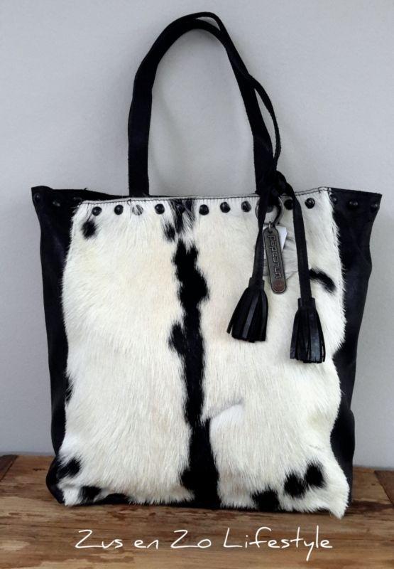 Koeienhuid Van Shopper Nr FashionFashion Met 1Bags 'unleaded' PkXiZuOT