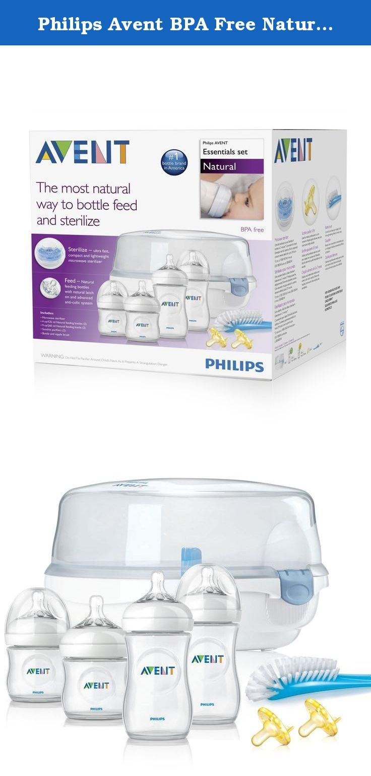 Philips Avent Bpa Free Natural Essentials Feeding Bottles Gift Set Feeding Bottle Feeding