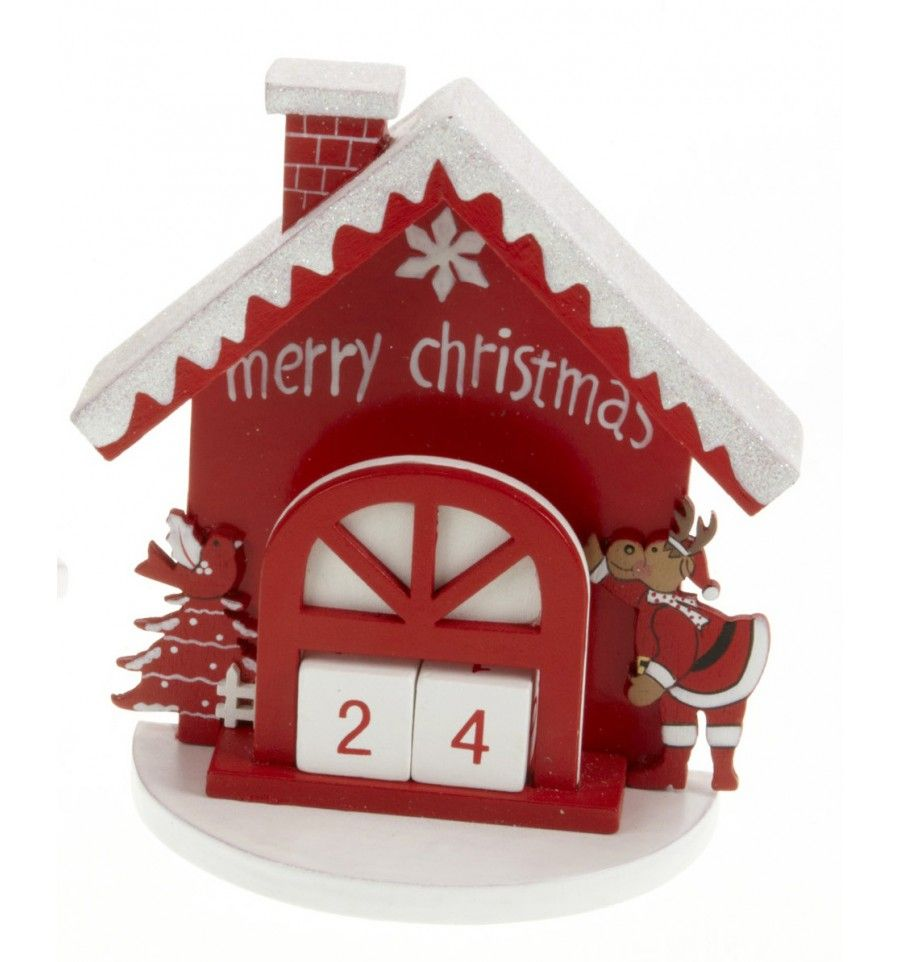 Calendario adviento Casita Reno | Navidad - Christmas | Pinterest