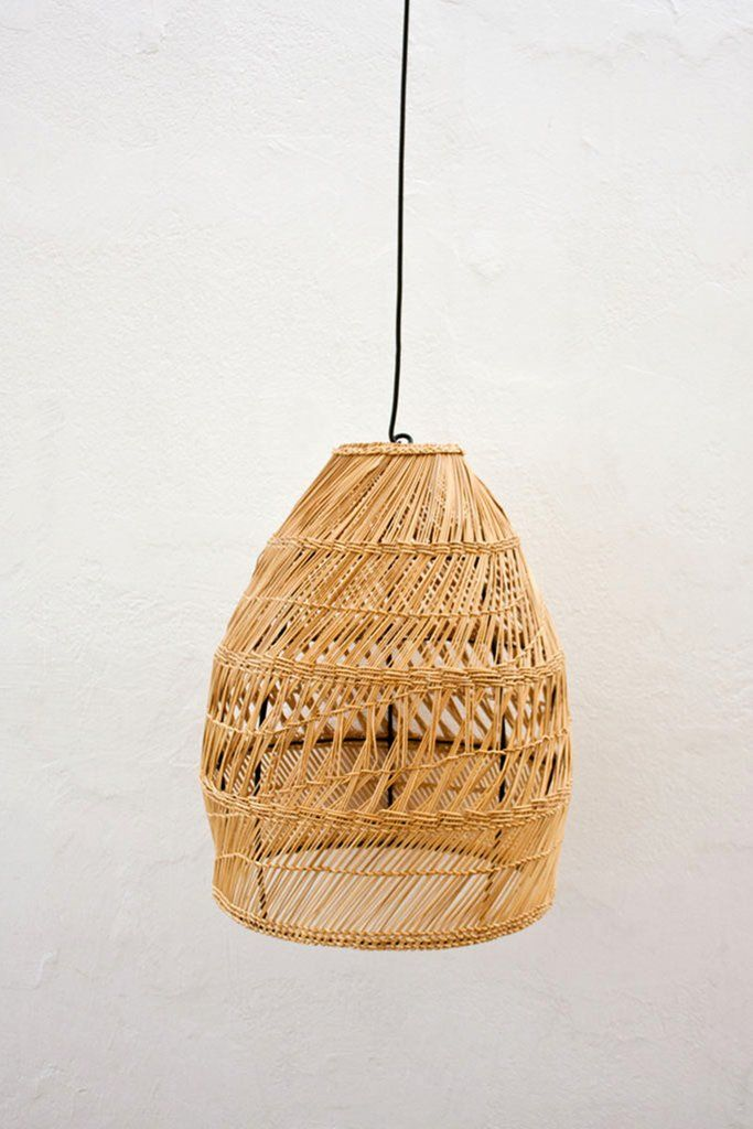 Tunisian Shezad Seagrass Lamp Shade Lost Found Lamp Pendant