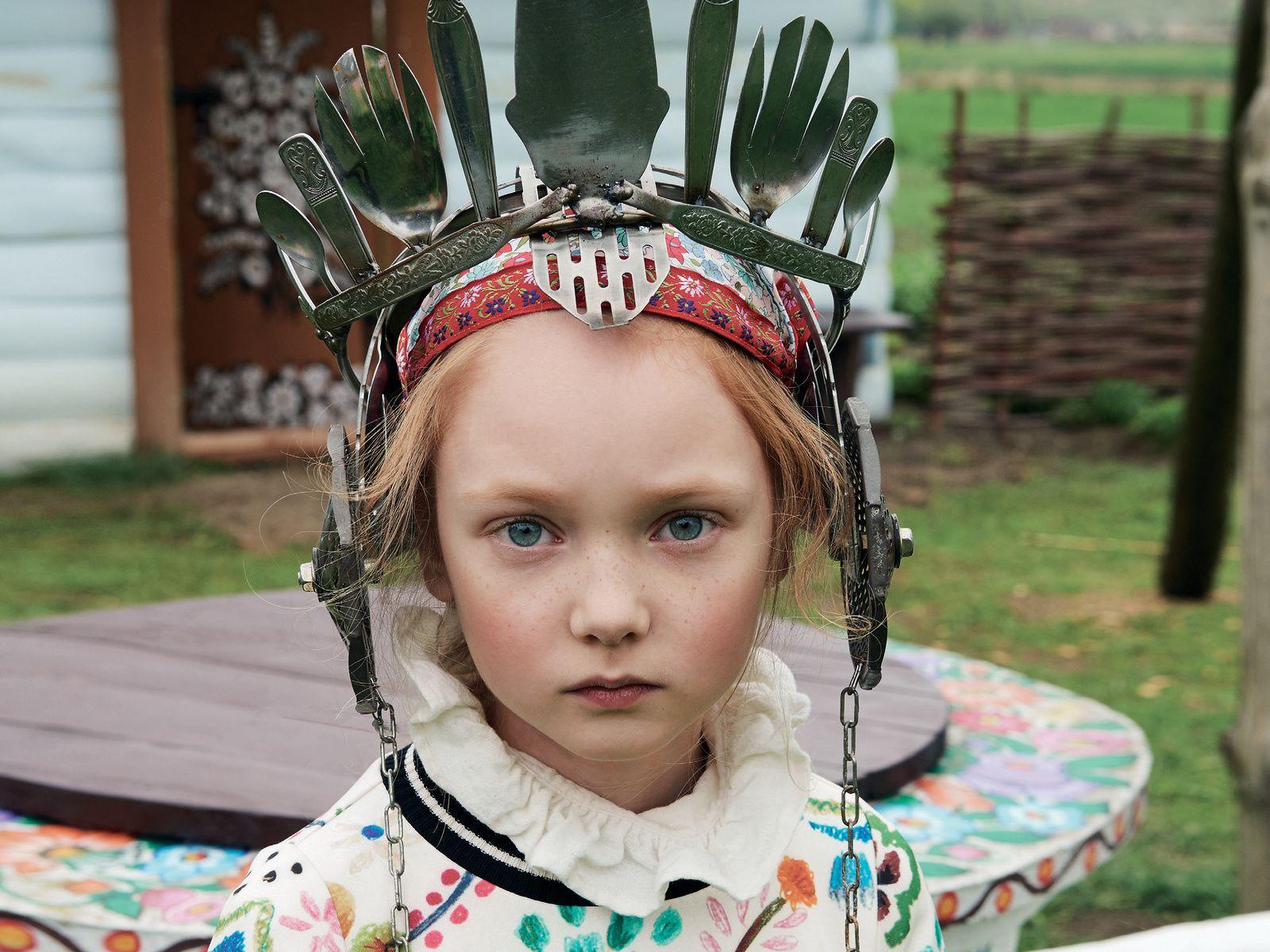 Sfondi bambini ~ Vogue bambini ph. marco tassinari styled by simona valentini