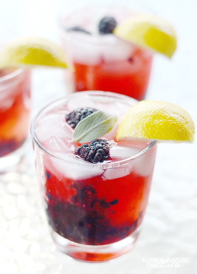 Blackberry Sage Lemonade {The Melting Pot Copycat}