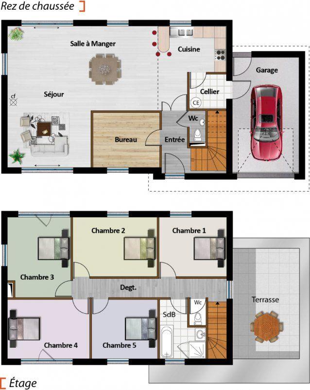 Maisons Logifrance - Gamme Lavilla Plans de maison Pinterest - simulation maison a construire