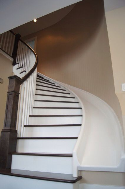 Slide And Stairs Staircase Design Metal Building Homes Stair Slide