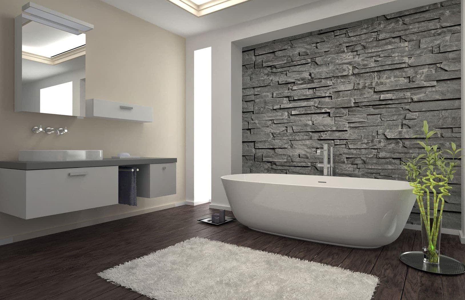 Trendy Kleuren Badkamer : Complete badkamer in trendy style en groot ligbad badkamers
