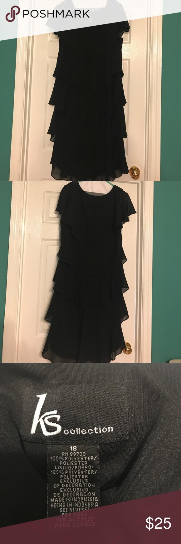 Black Dress Size 16 Dresses Black Dress Black Tiered Dress [ 1740 x 580 Pixel ]