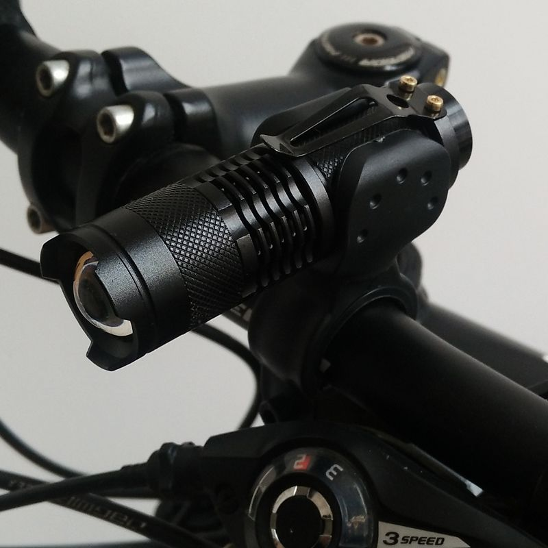 Waterproof Handlebar Mtb Bicycle Light 7w 200 Lumen Bike Light