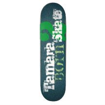 "Born 2 Skate ""Your Name Here"" Stylish Blue, Green   Skateboard Deck Design(s)  Click the 'CUSTOMIZE IT' button to insert  your own image or text and choose your deck type.   Skateboard design(s) exclusively by Peter Chassé  http://www.zazzle.com/chasse* @ 2016  You can find more great skateboard designs here:  http://www.zazzle.com/chasse/gifts?cg=196121646626227713  Thanks for visiting."