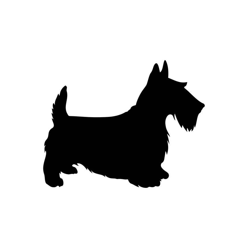pin by s lle katalin on silhouette pinterest art clipart cricut rh pinterest com Scottie Dog Outline scottie dog clipart