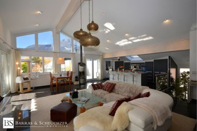 Conthey, UNIQUE - Luxueux attique de 150 m2 + 150 m2 de terr - Valais