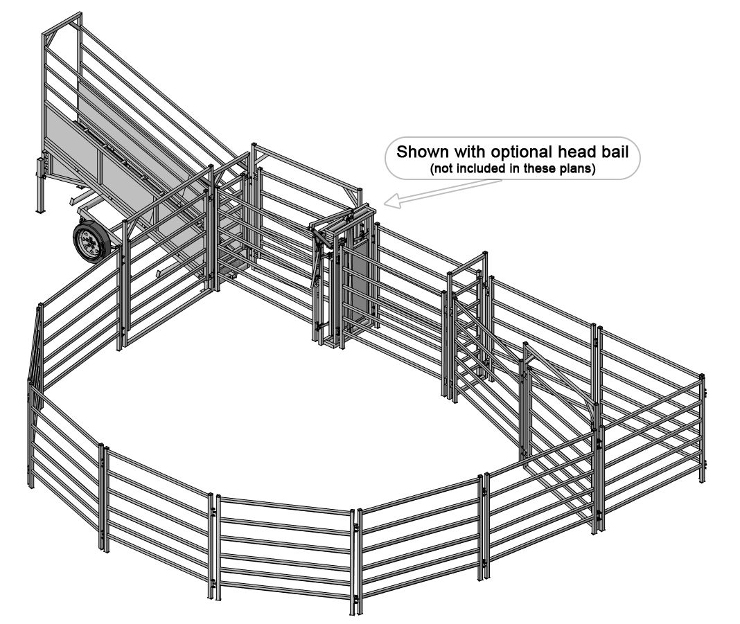 Example of what can be built using our portable cattle ...