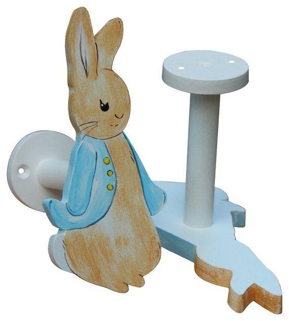 nice Rabbit Tie Backs Part - 4: Peter Rabbit Curtain Holdbacks - Beatrix Potter Curtain Tiebacks
