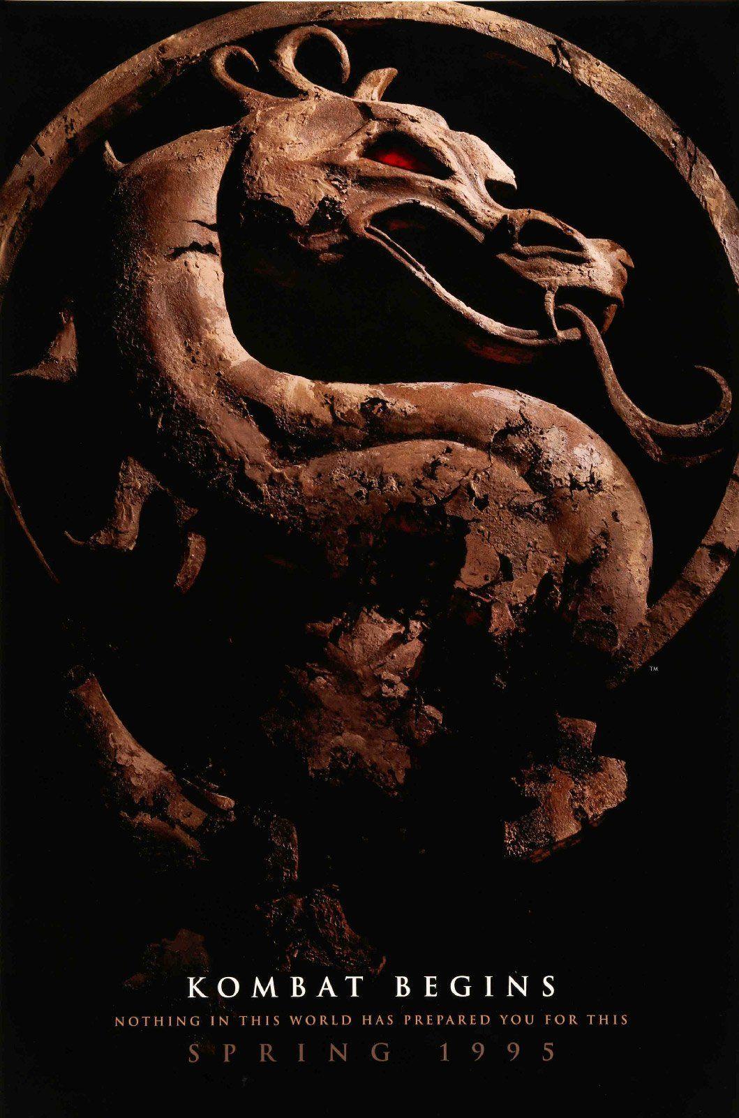 Mortal kombat 1995 mortal kombat movie posters 1995