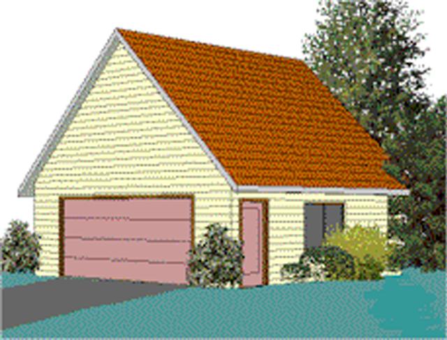 Free Woodworking Plans to Build a Garage CADNWs Free 24x24 2Car – Free 24X24 Garage Plans