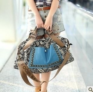 fashion canvas bag bags shoulder bag