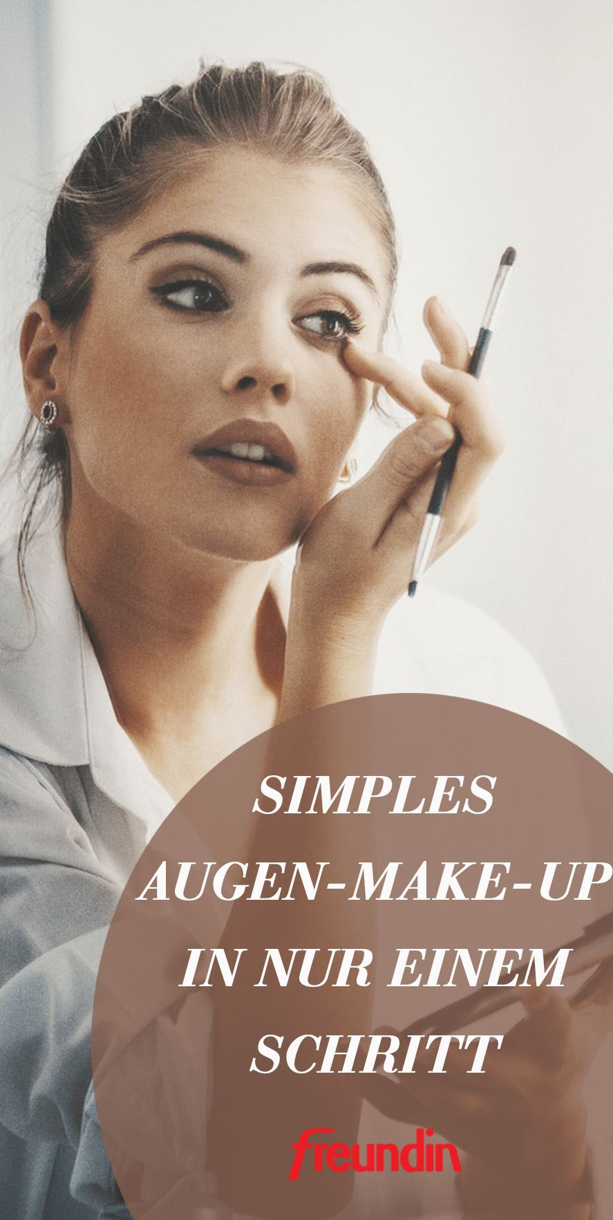 Photo of Simple eye make-up in just one step freundin.de