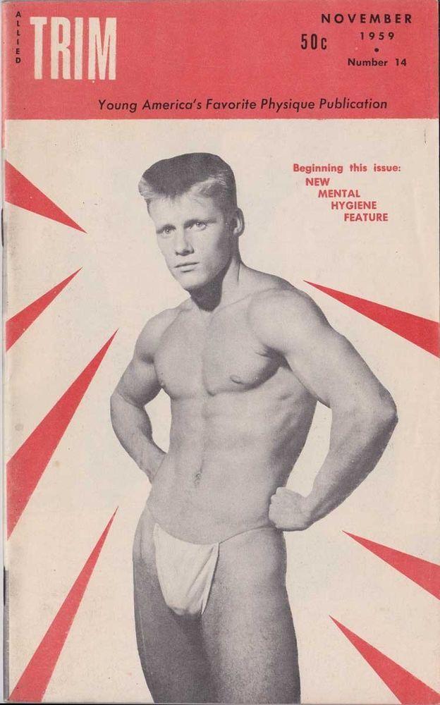 Vintage male physique photos