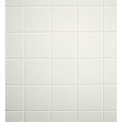 Inexpensive White 4x4 Tile Pattern Aquatile Brand Tileboard For