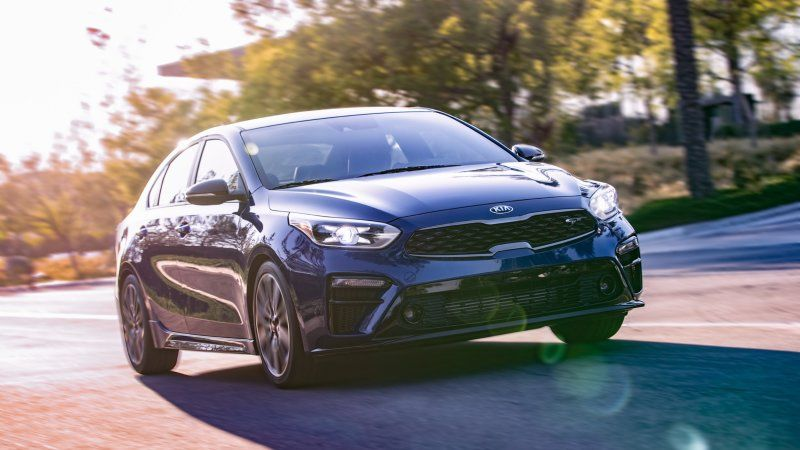2020 Kia Forte Gt Revealed At Sema Adds Turbo Engine Manual