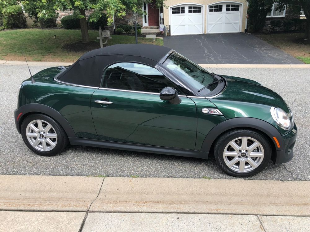 Ebay 2017 Mini Cooper S Two Seat Convertible Roadster Minicooper