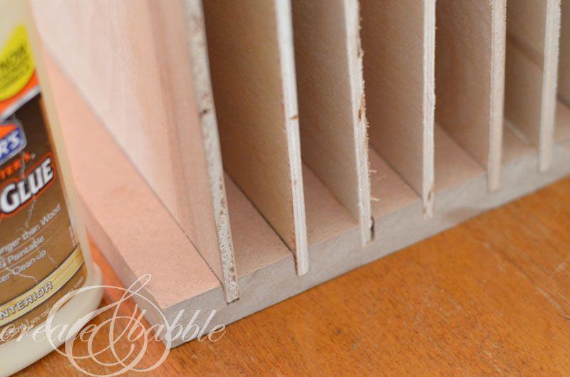 Diy Paper Organizer Scrapbook Paper Storage Paper Storage