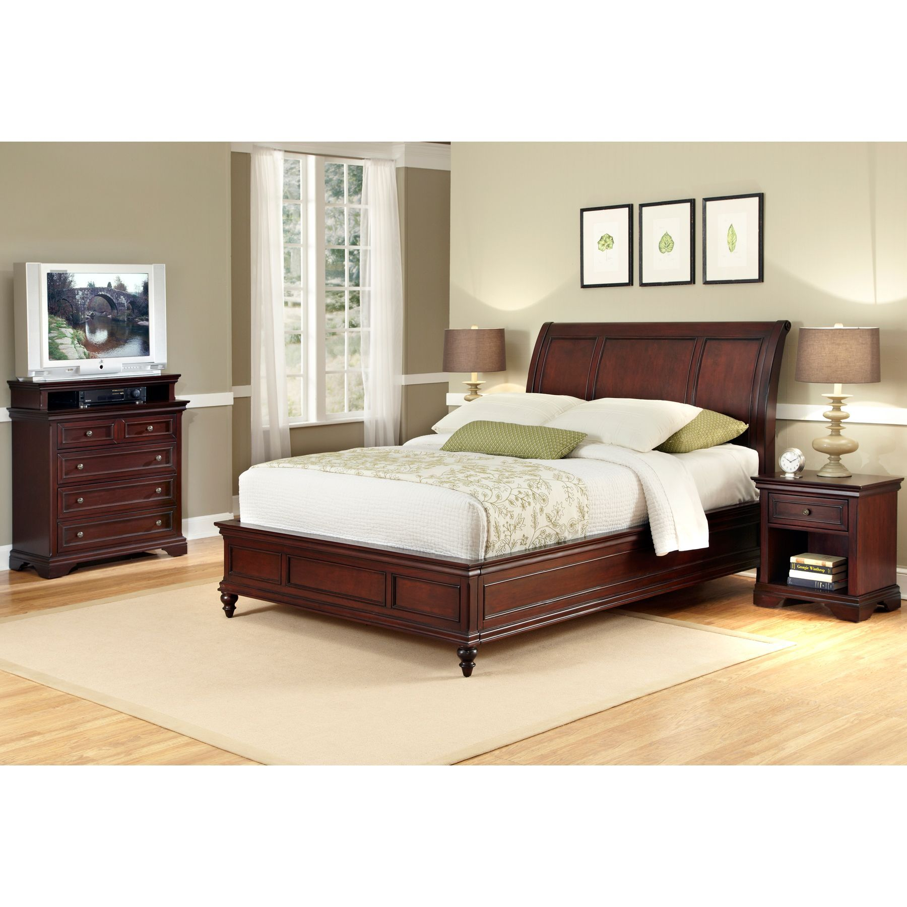 Home styles full bedroom set products pinterest products