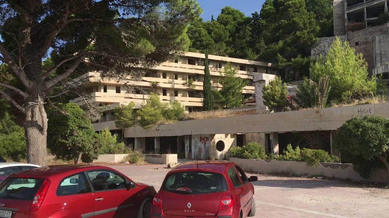 Dubrovnik Desolate Beach Resort - Post War