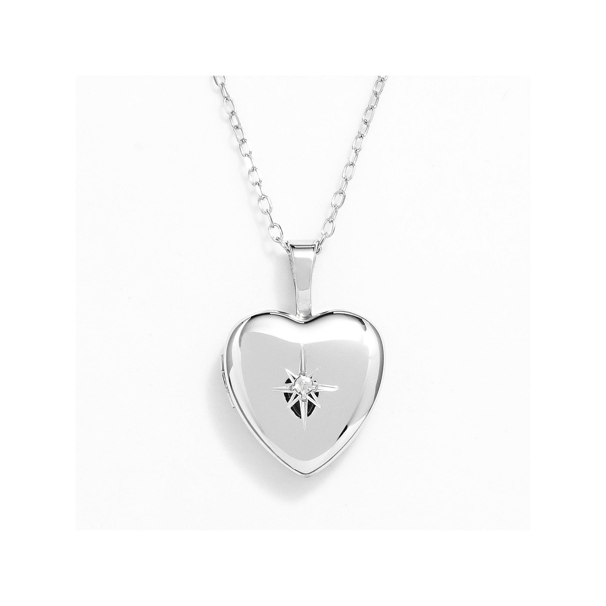 lockets use sterling girls drawing free com heart silver locket vintage for cz at personal pendant style necklace getdrawings