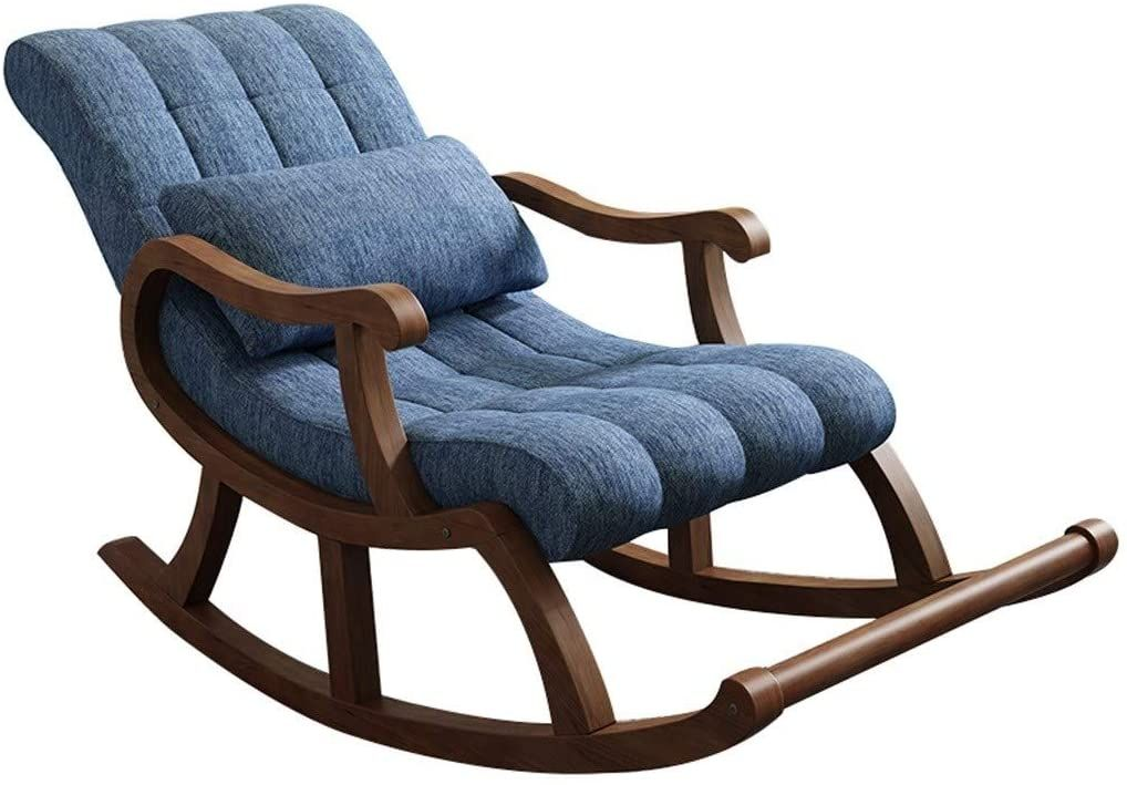 Recliner Sofa Recliner Chair Ergonomic Single Fabric Sofa Comfortable Relax Rocking Chair Lounge Cha In 2020 Upholstered Rocking Chairs Rocking Chair Single Sofa Chair