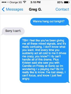 How to turn on a guy threw text