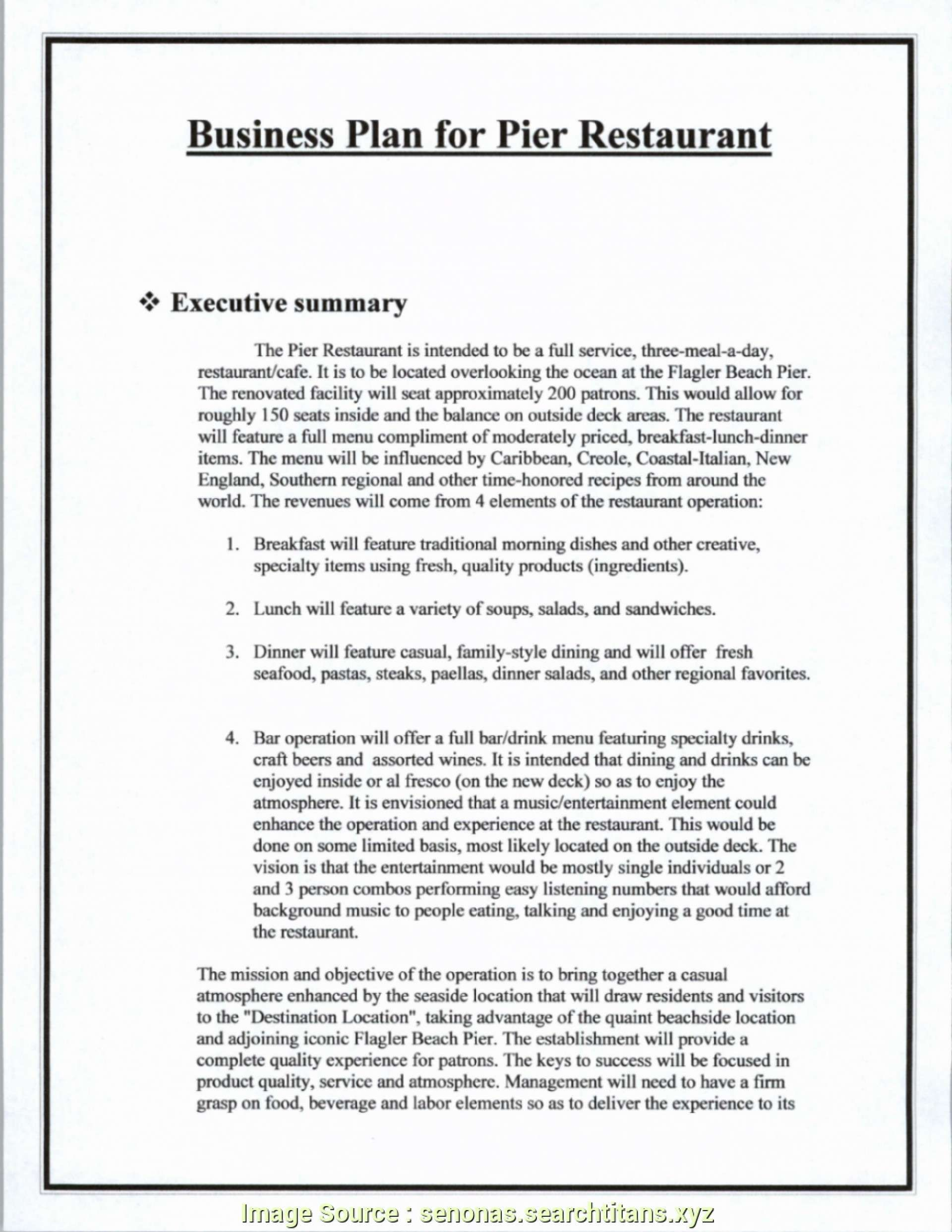 Coffee Shop Business Plan Template Free (With images